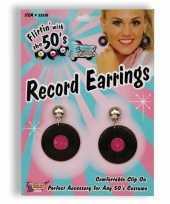Goedkope jaren lp oorbellen