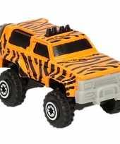 Goedkope jeep safari speelgoedauto tijger goedkope