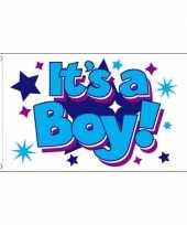 Goedkope jongens geboorte vlag