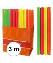 Goedkope kaftpapier folie schoolboeken neon oranje meter
