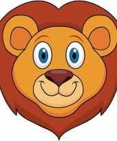 Goedkope kartonnen leeuwen masker kinderen