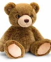 Goedkope keel toys pluche donkerbruine beren knuffel 10140936