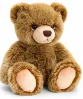 Goedkope keel toys pluche donkerbruine beren knuffel