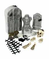 Goedkope kerkhof set grafstenen