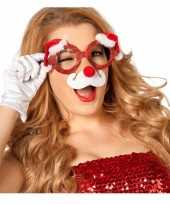 Goedkope kerst bril neus