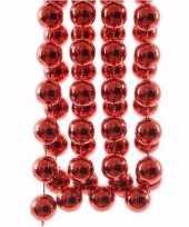 Goedkope kerst rode xxl kralenslinger christmas red
