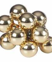 Goedkope kerst steker gouden mini kerstballen stuks