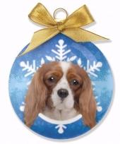 Goedkope kerstboom decoratie kerstbal hond king charles spaniel
