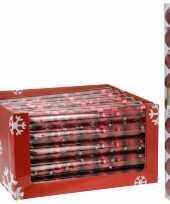 Goedkope kerstboom decoratie kerstballen mix rood stuks 10081369