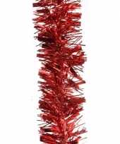 Goedkope kerstboom folie slinger rood