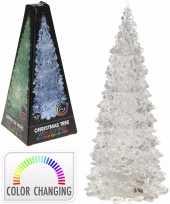 Goedkope kerstboom transparant led licht