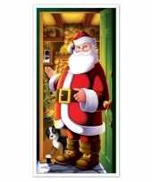 Goedkope kerstman deurposter