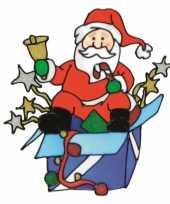 Goedkope kerstman raamsticker