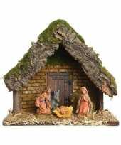 Goedkope kerststal kerst figuren