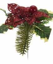 Goedkope kerststukje kersthulst steker