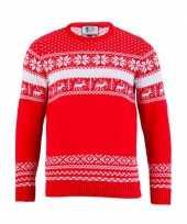 Goedkope kersttrui the red nordic heren
