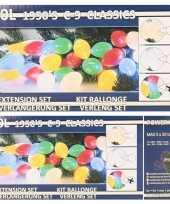 Goedkope kerstverlichting kaarsjes gekleurd buiten lichtsnoer 10152815