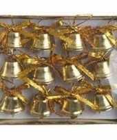 Goedkope kerstversiering kerstbelletjes goud stuks