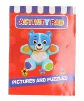 Goedkope kinder activiteitenboek tot jaar type