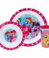 Goedkope kinder ontbijt set my little pony