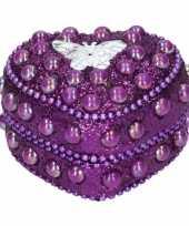 Goedkope kinder tanden doosje vlinder paars