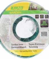 Goedkope kinzo tuinslang groen zwart meter 10088153