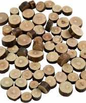 Goedkope kleine houten schijfjes gram
