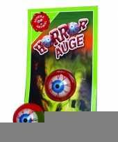 Goedkope kleverige horror oog
