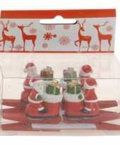 Goedkope knijper kerstman laars stuks