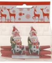 Goedkope knijper sneeuwpop stuks