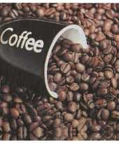 Goedkope koffie bonen servetten stuks