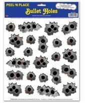 Goedkope kogelgaten stickers