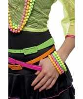 Goedkope kralen armbanden neon kleuren