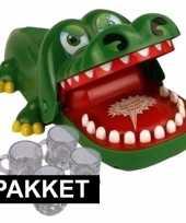 Goedkope krokodil drankspel shotglaasjes 10098060