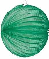 Goedkope lampion groen