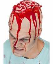 Goedkope latex hoofdkap openliggende hersenpan