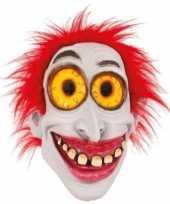 Goedkope latex horror masker enge clown