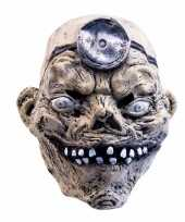 Goedkope latex horror masker mad doctor