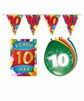 Goedkope leeftijd feestartikelen jaar voordeel pakket 10113379