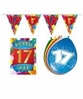 Goedkope leeftijd feestartikelen jaar voordeel pakket 10113381