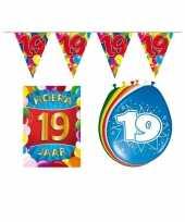 Goedkope leeftijd feestartikelen jaar voordeel pakket 10113383