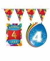 Goedkope leeftijd feestartikelen jaar voordeel pakket 10113417