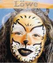 Goedkope leeuw schminken schminkset