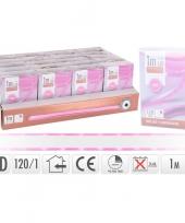 Goedkope lichtslang led strip batterij roze binnen meter