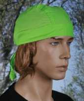 Goedkope lime groene bandana uni