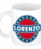 Goedkope lorenzo naam koffie mok beker