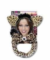Goedkope luipaard verkleed setje