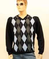Goedkope luxe heren pullover blue