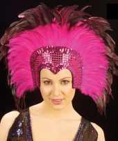 Goedkope luxe hoofdtooi roze