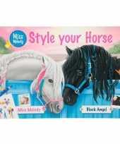 Goedkope luxe paarden sticker plakboek miss melody